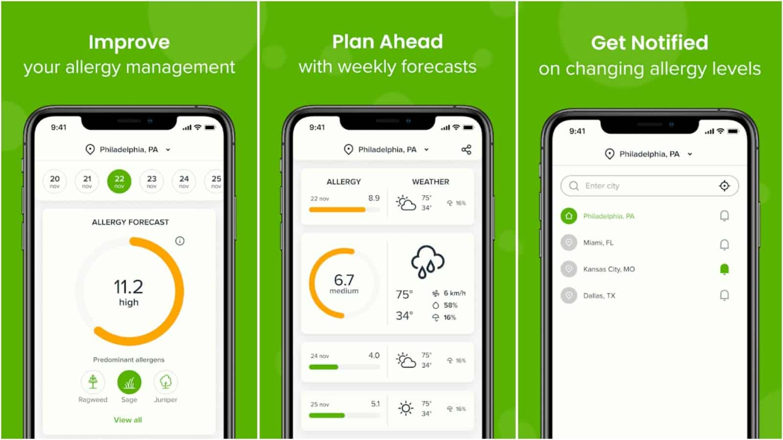 Allergy Plus app grid image
