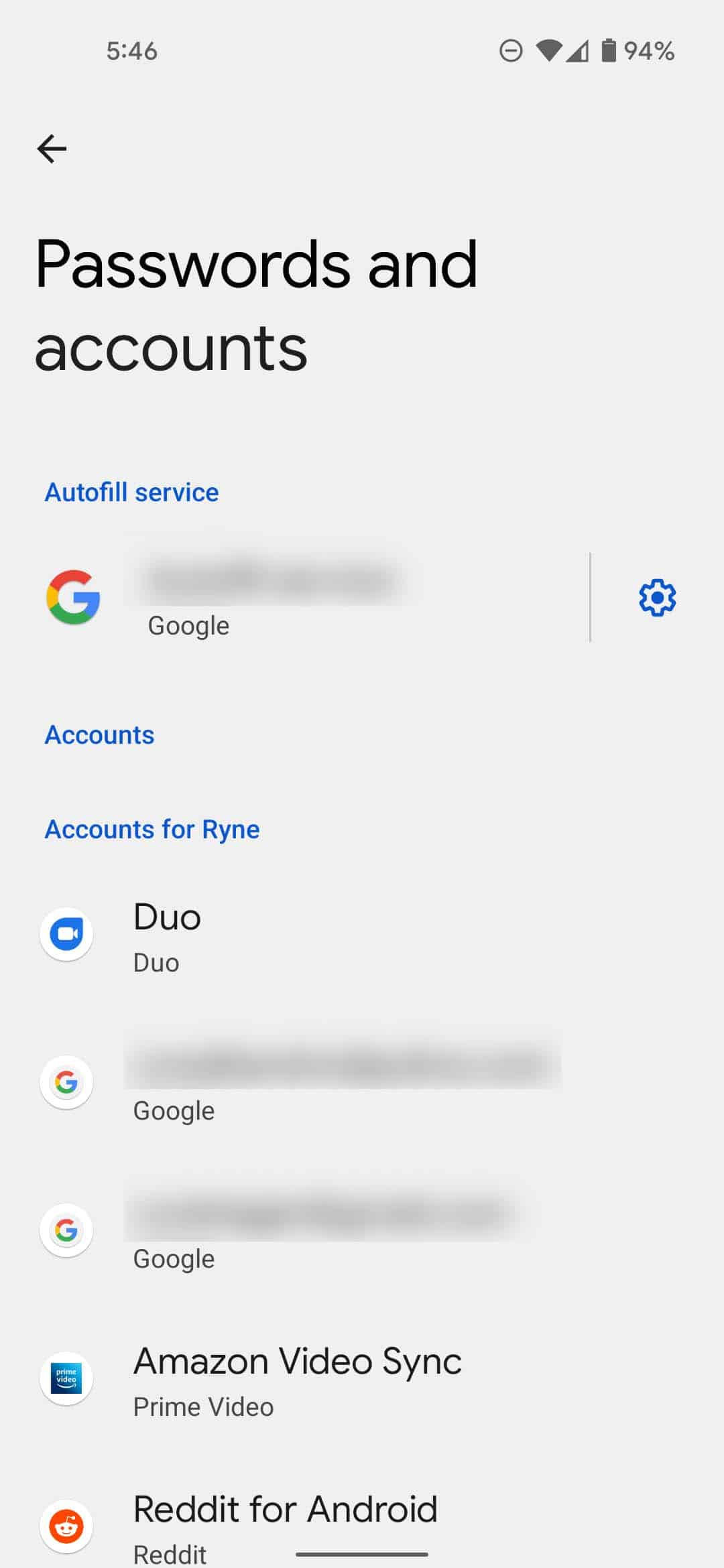 Android 12 DP3 autofill passwords Android Police