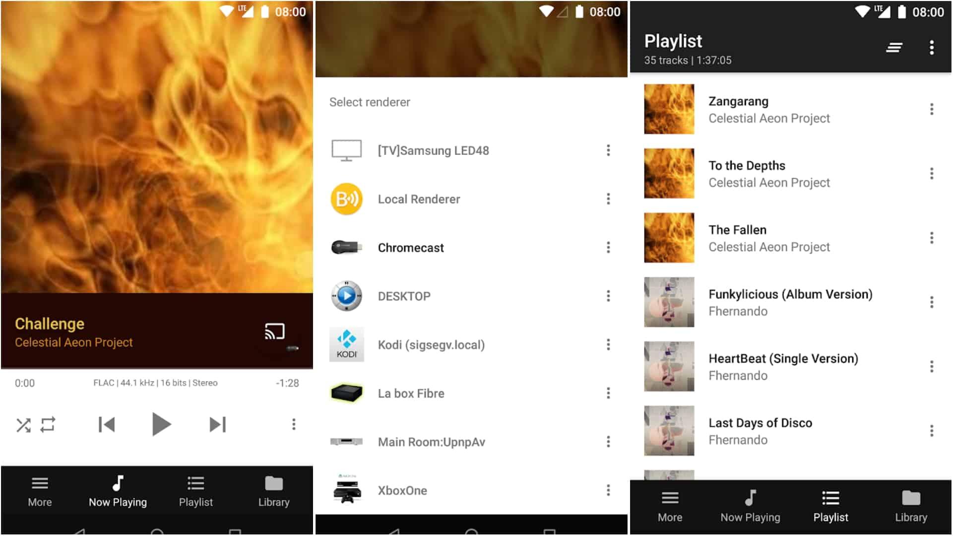BubbleUPnP app grid image