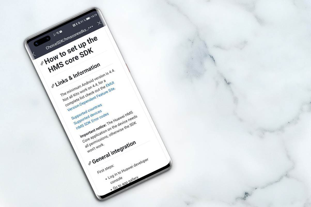 Huawei shows developers how to easily turn GMS apps into HMS apps