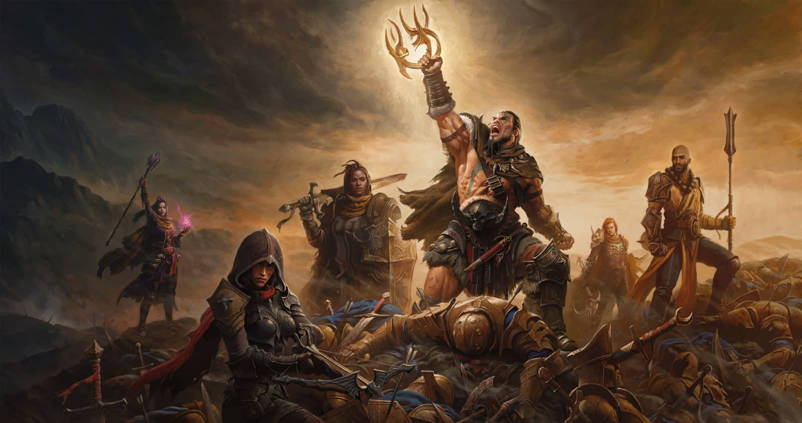 Diablo Immortal Intros Faction Wars with closed alpha test