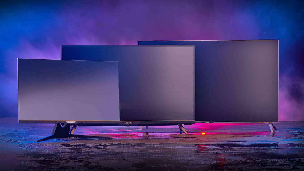 Gigabyte unveils three 4K gaming monitors with HDMI 2.1