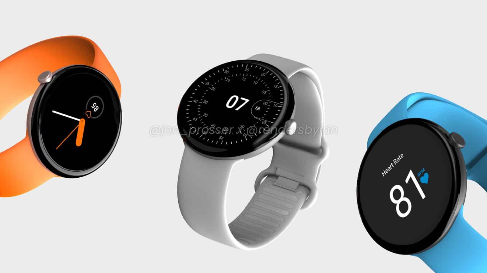 Google Pixel Smartwatch Leak 5