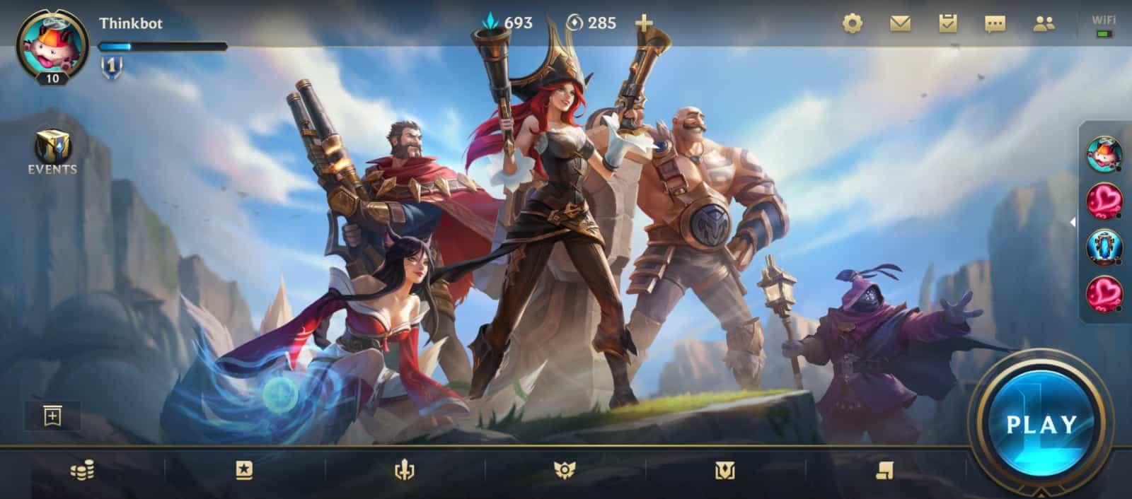 League Of Legends Wild Rift Match History 4