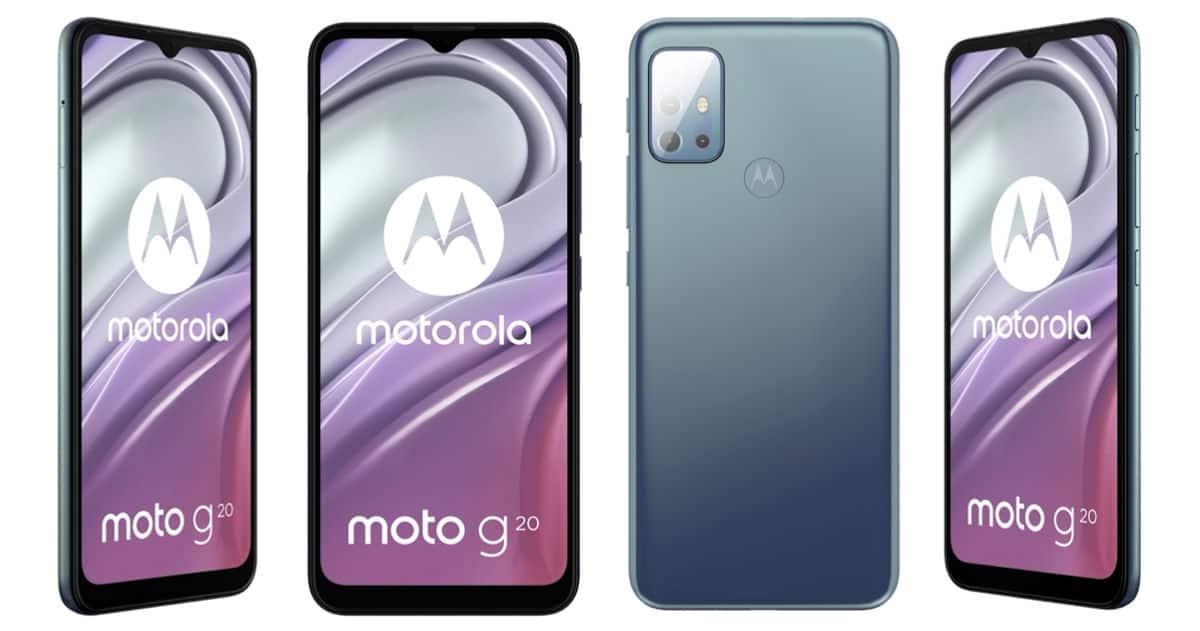 Motorola Moto G20 leak 2