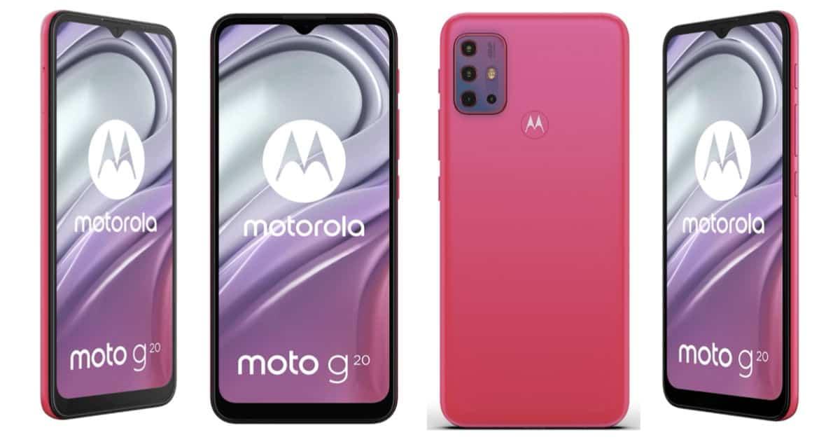 Motorola Moto G20 leak 3
