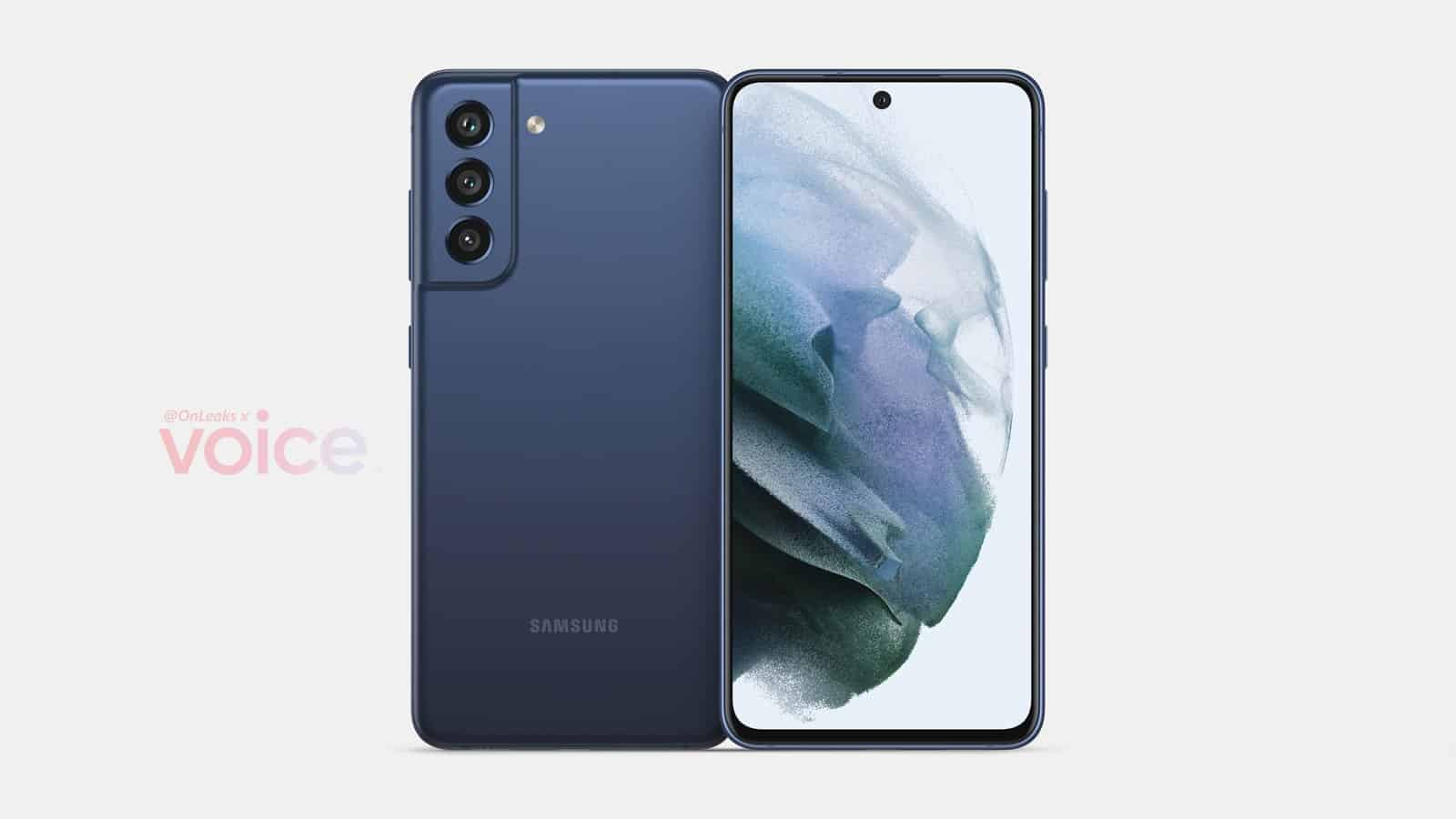 Samsung Galaxy S21 FE render leak 1