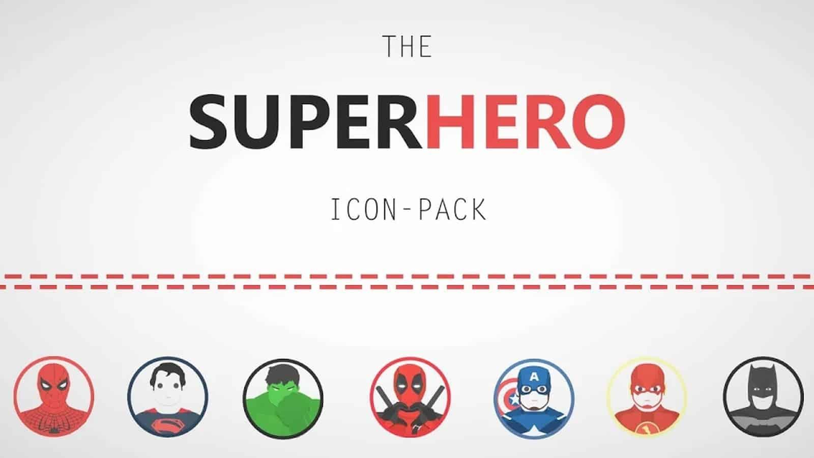 The Superhero Icon Pack1