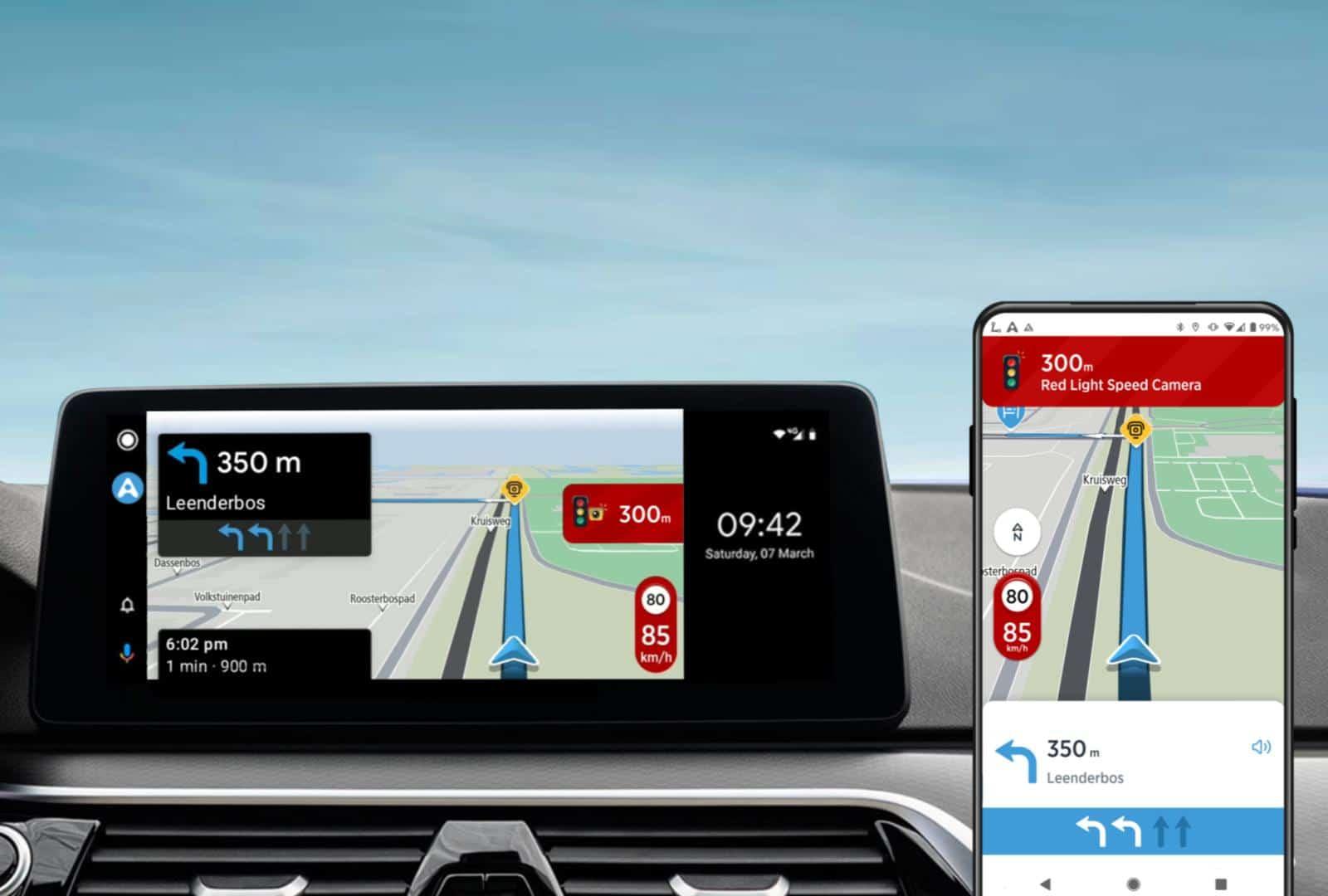 TomTom AmiGO becomes a new navigation platform for Android Auto