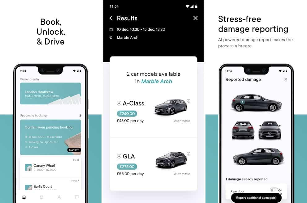 Virtuo car rental app
