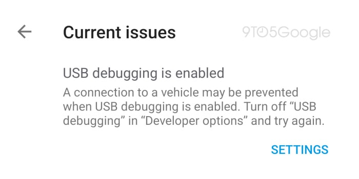 android auto connectivity troubleshooter