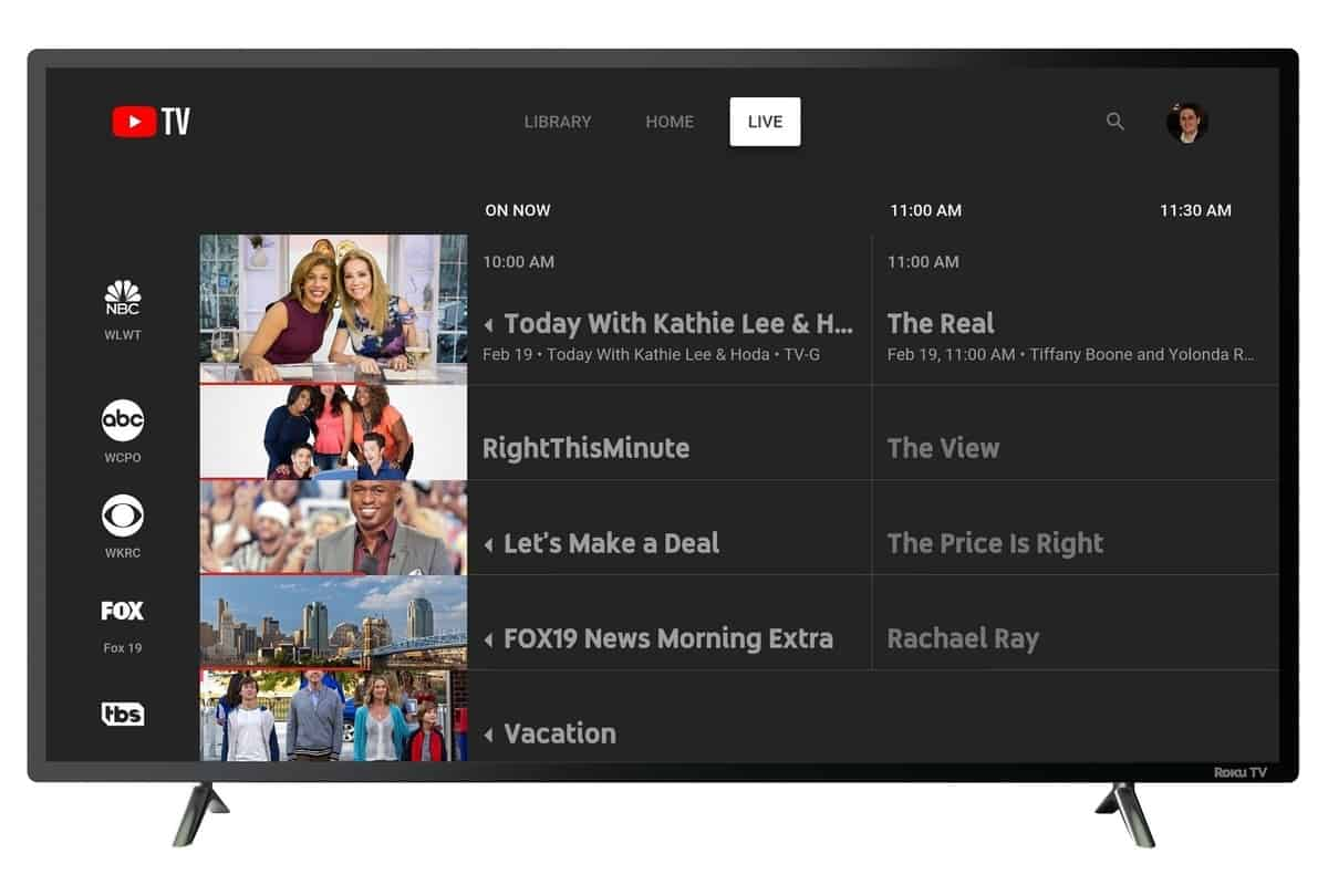 YouTube TV Is No Longer Available On Roku