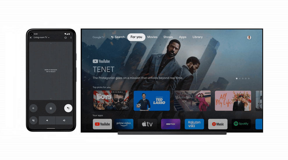 Android TV Remote Control Features