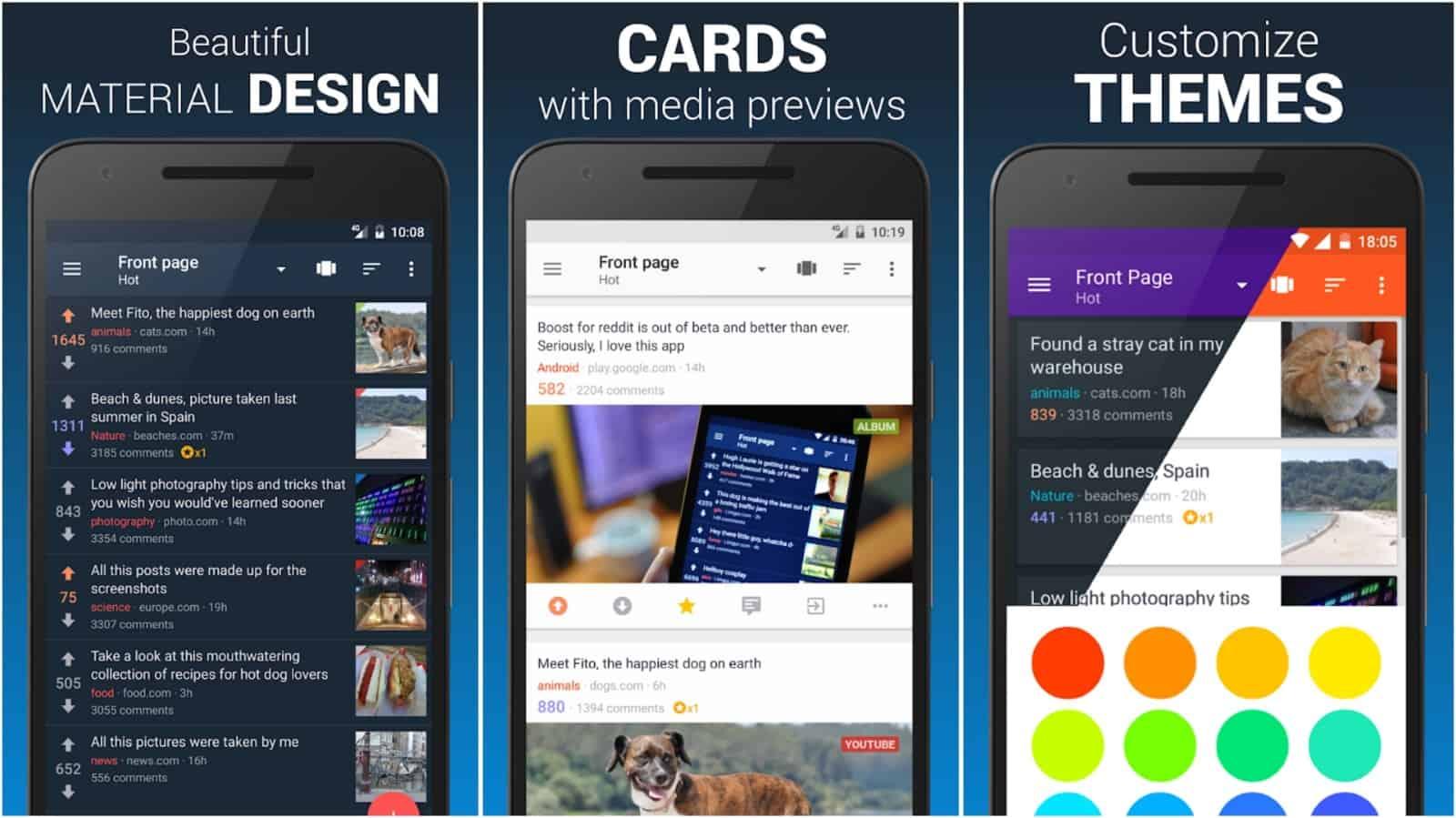 Boost app grid image