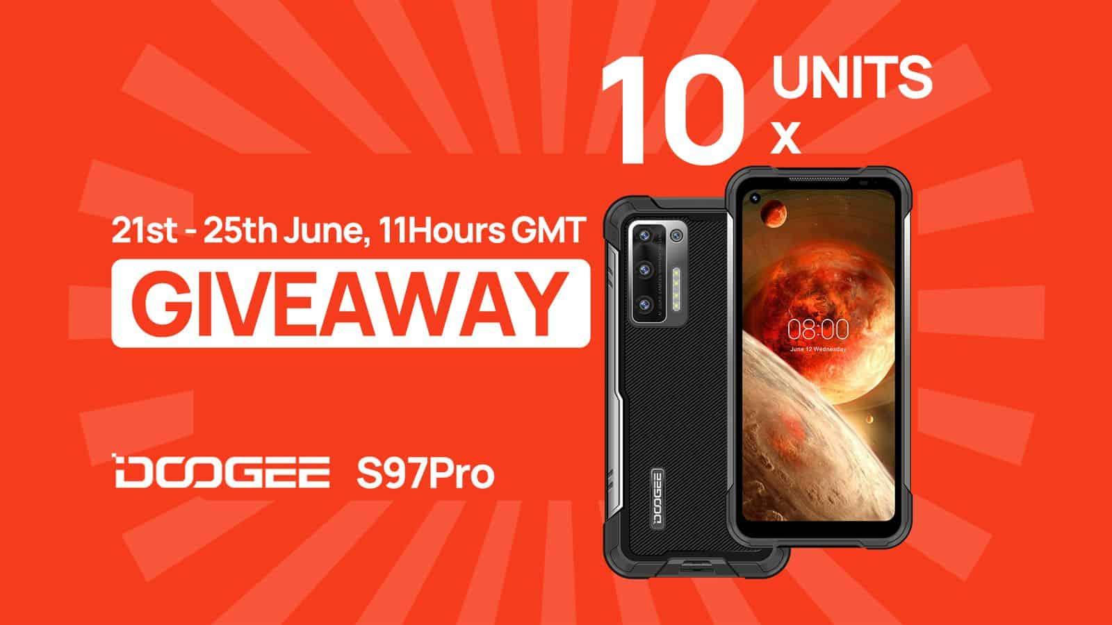 DOOGEE S97 Pro giveaway