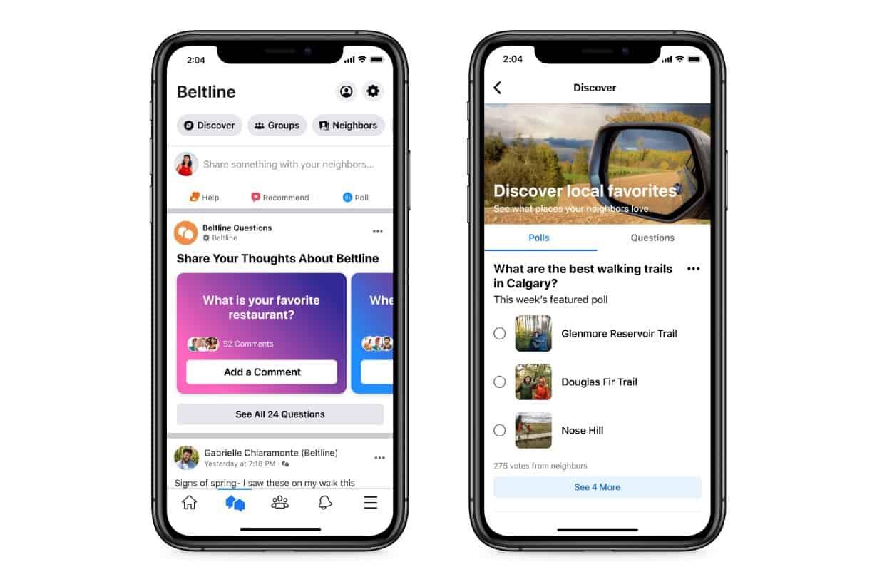 Facebook Launches A Nextdoor Clone Called Neighborhoods