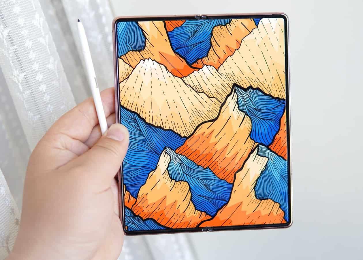 Galaxy Z Fold 3 design concept 6