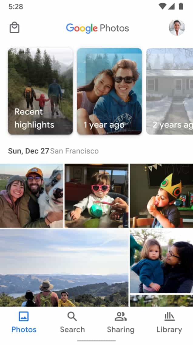 Google Photos sharing new interface update from 9to5Google