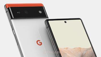 Google Pixel 6 CAD render 1