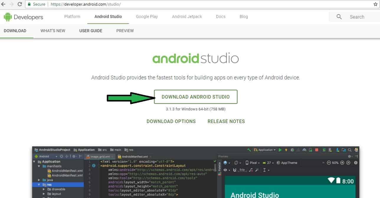 Panduan pengembangan aplikasi Android artikel 2
