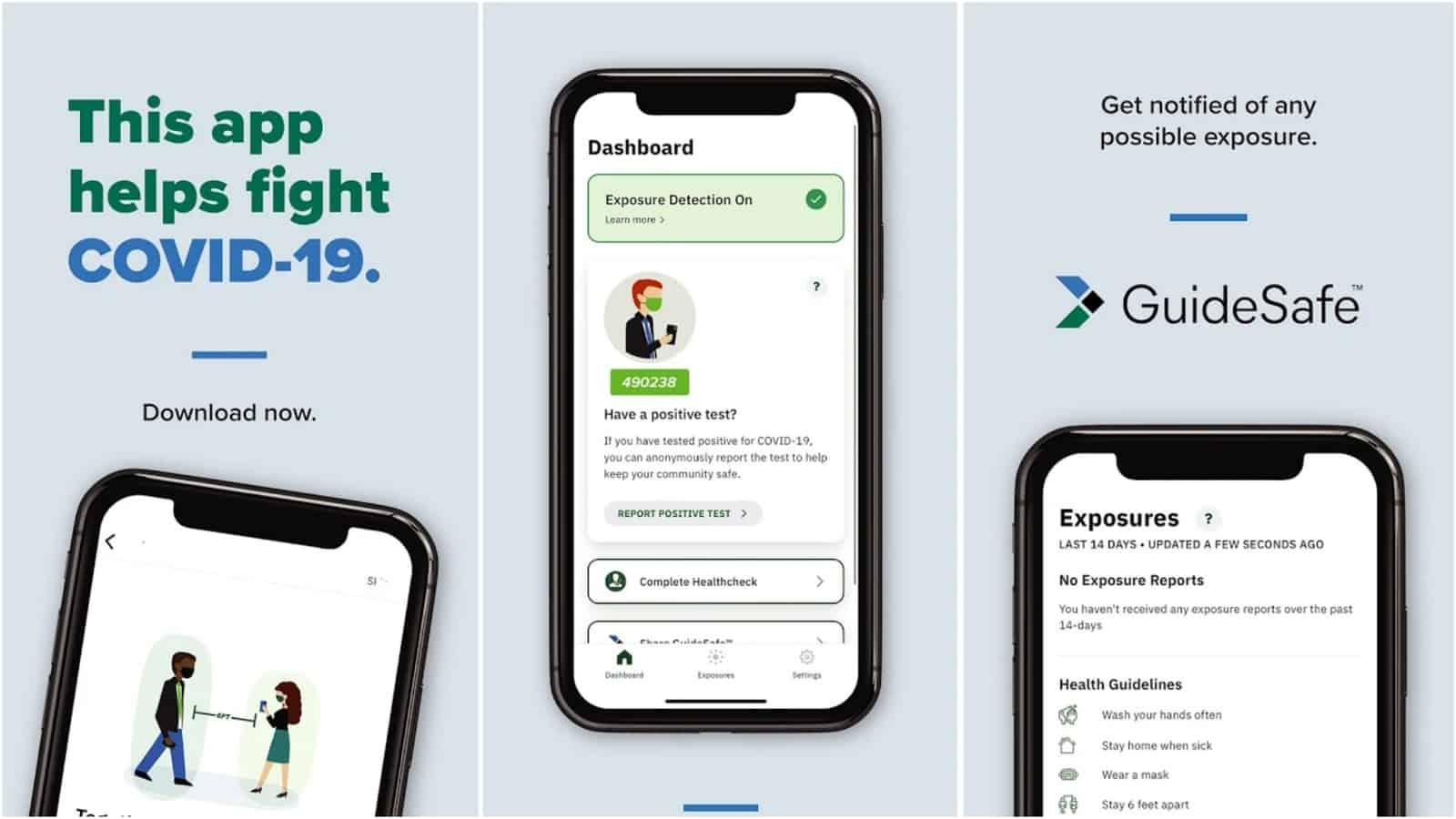 GuideSafe app grid image
