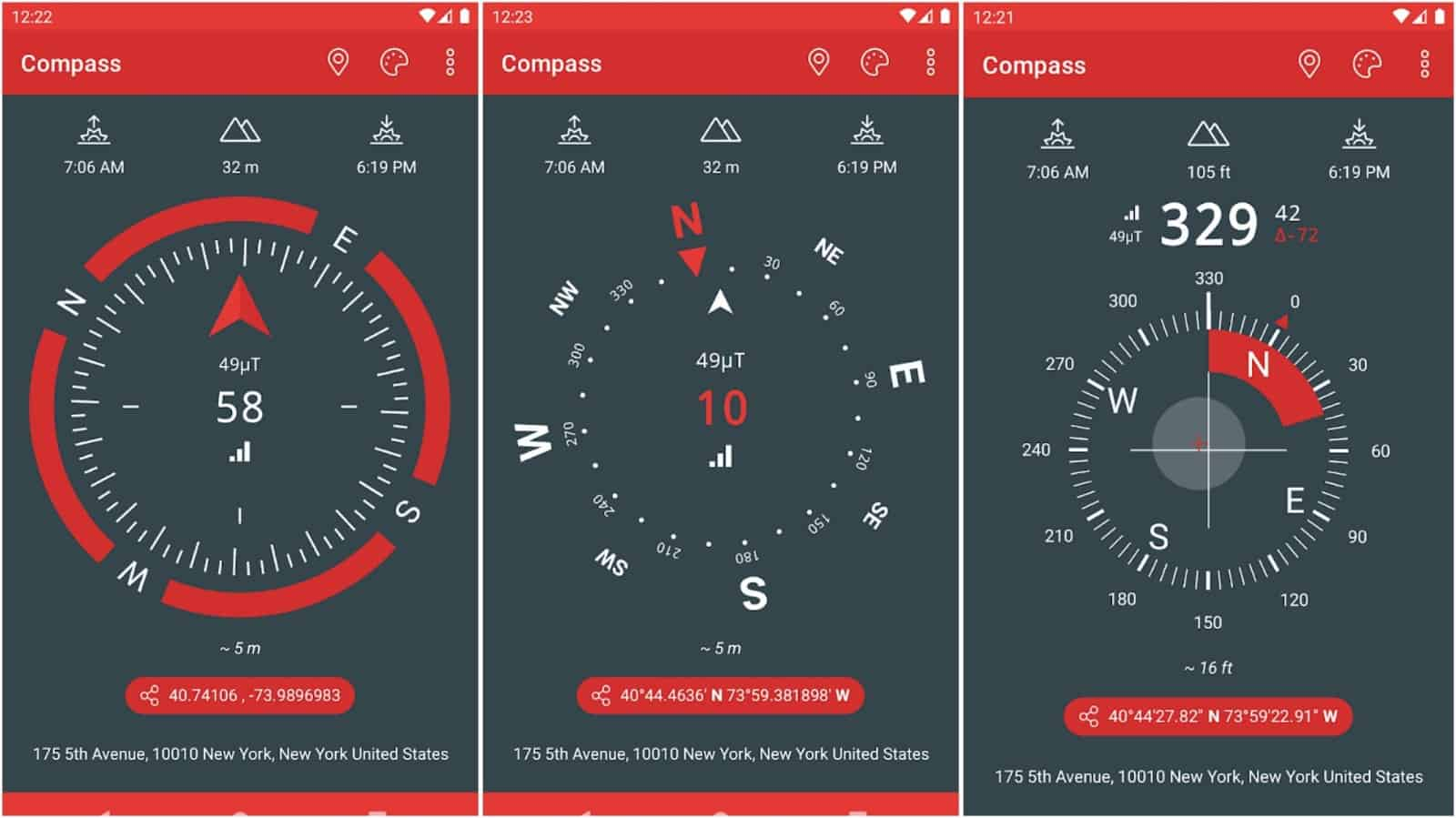Just a Compass app grid image