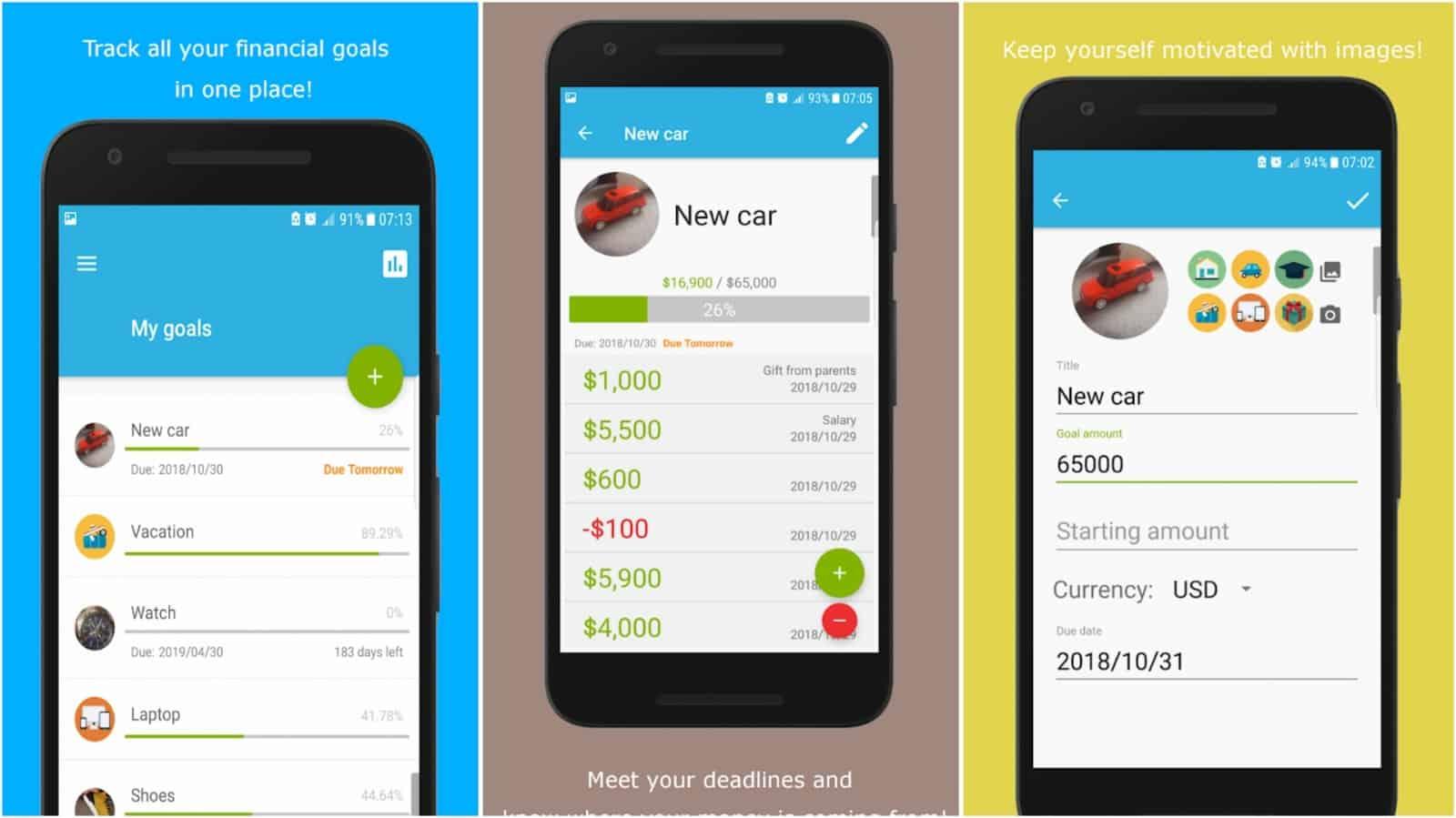 My Piggy Bank app grid image
