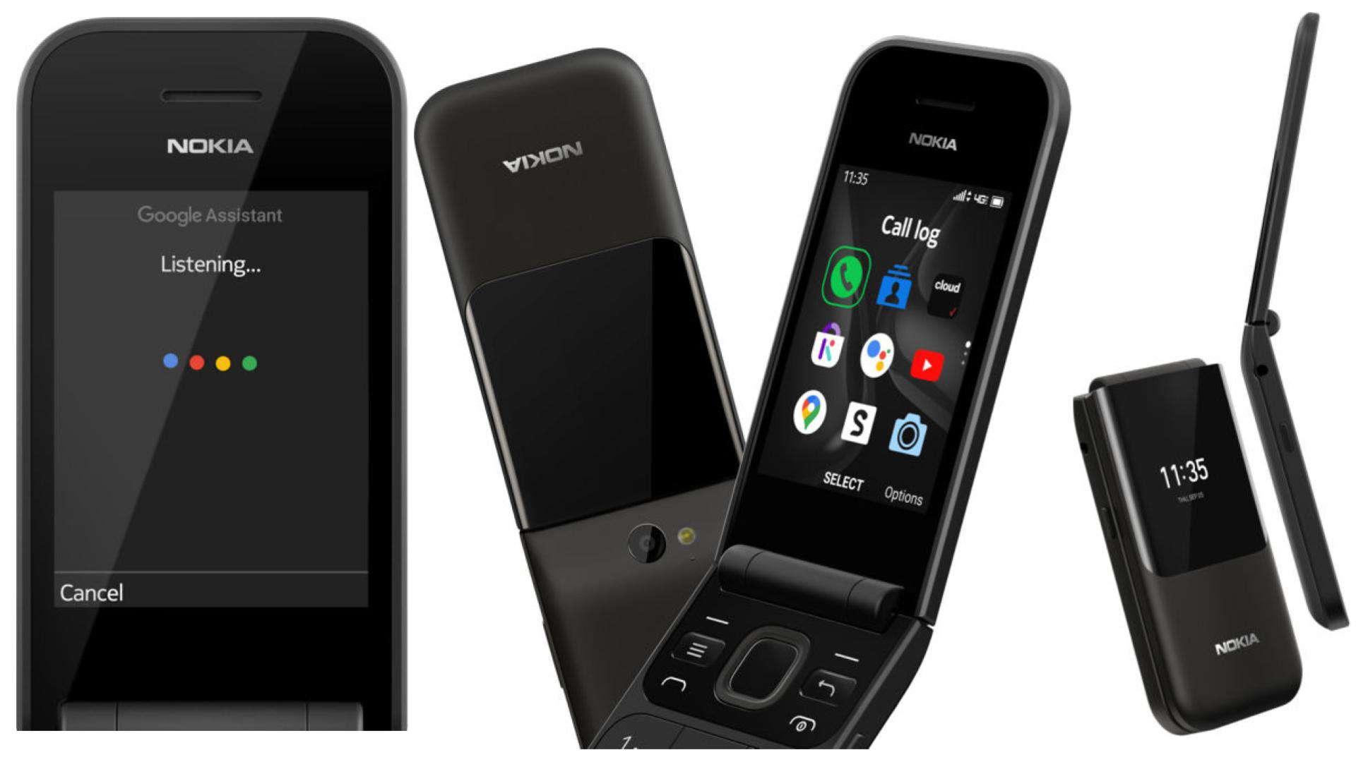 Nokia 2720 V Flip verizon presser