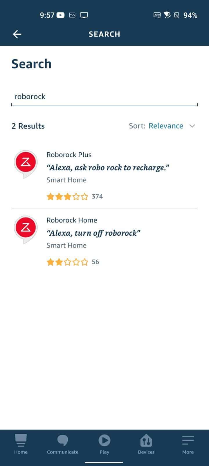 Roborock S7 Amazon Alexa 4