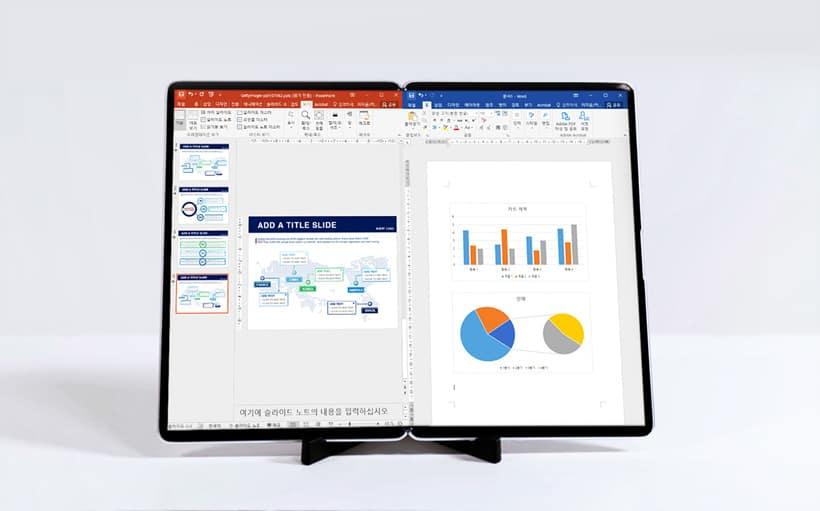 Samsung Display Folding Tablet