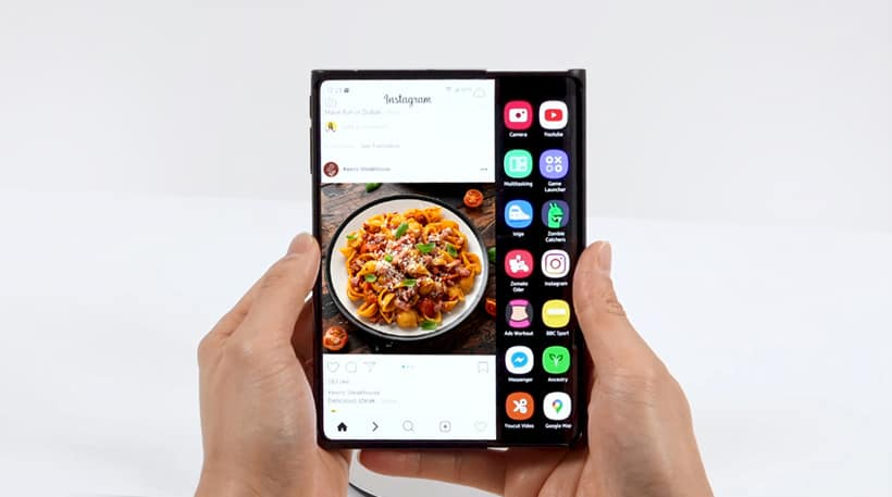 Samsung Display Sliding Screen Technology