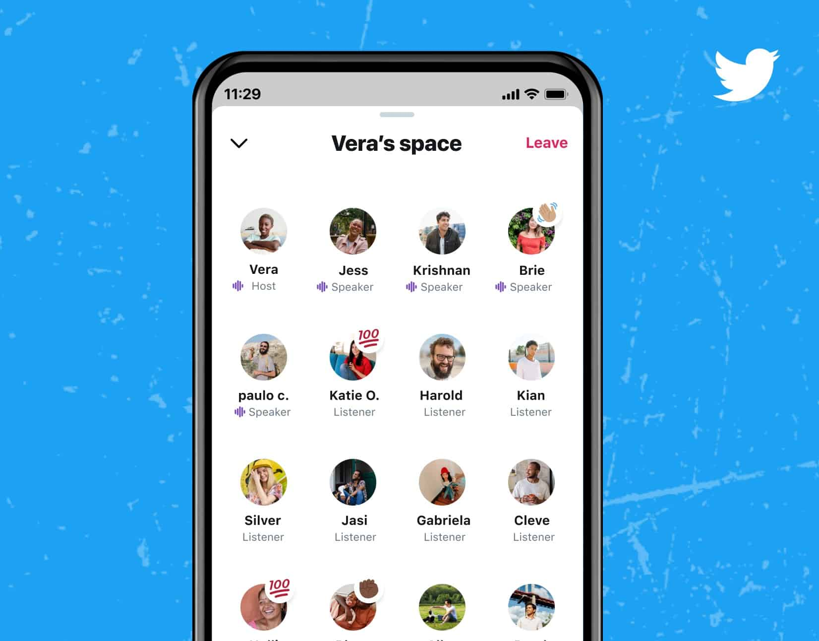 Twitter spaces are rolling out widely, but with a weird limitation