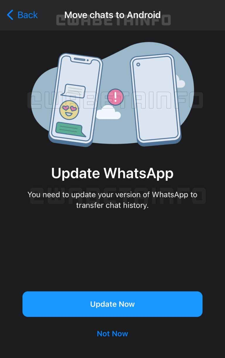 WhatsApp To Enable Chat History Migration To A Different Phone Number