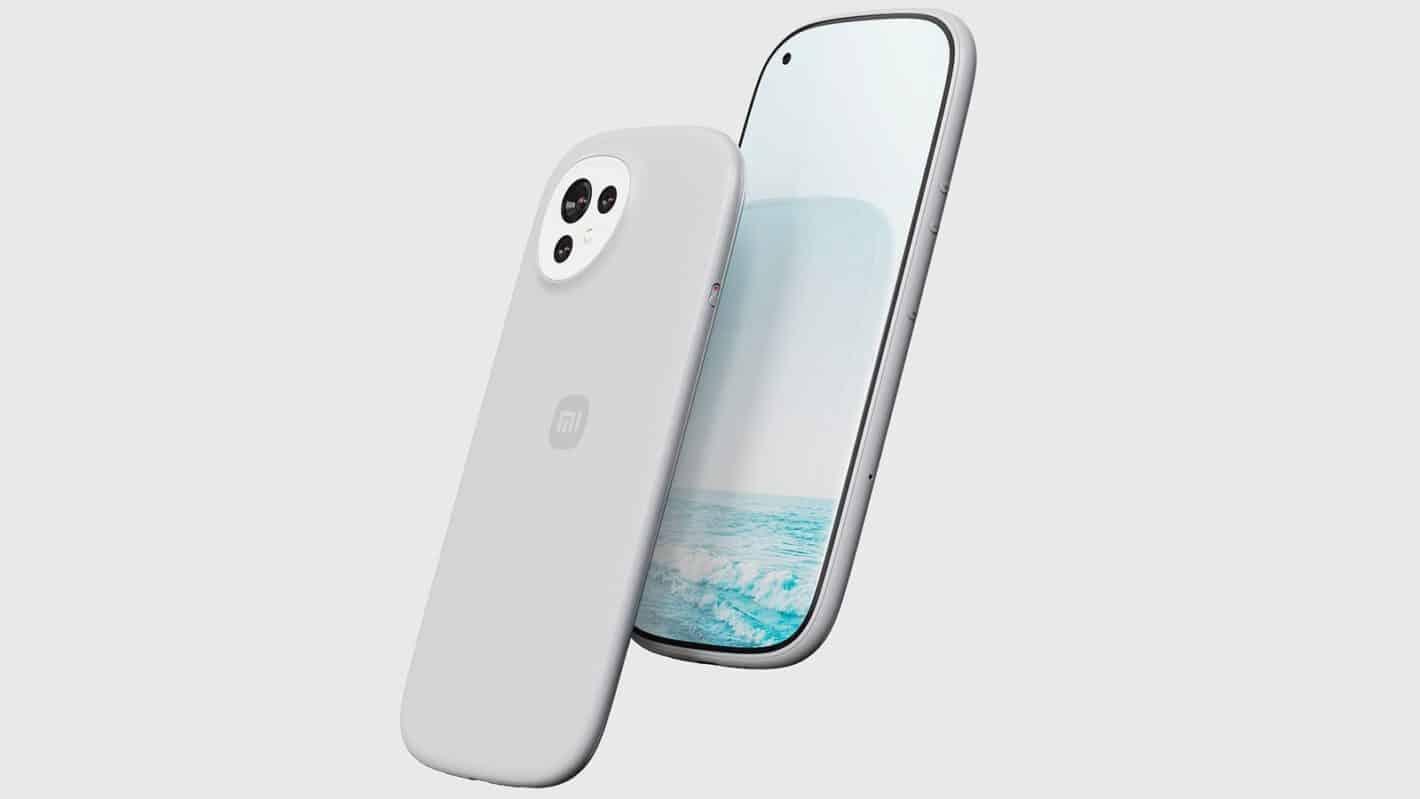 Xiaomi curvy concept phone 1
