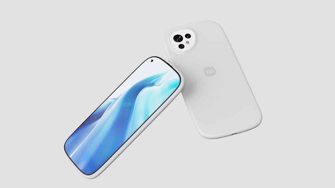 Xiaomi curvy concept phone 4