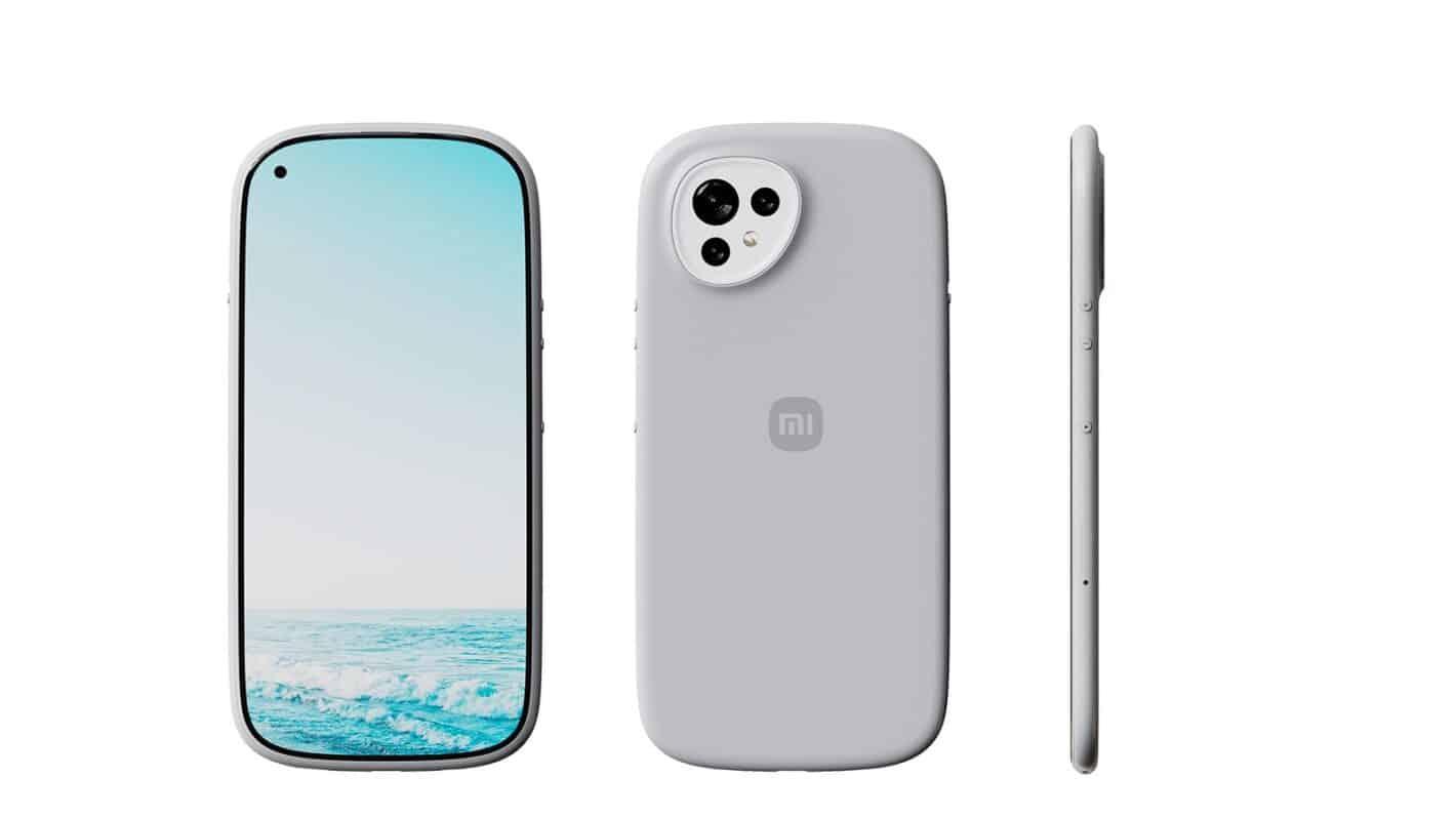 Xiaomi curvy concept phone 5