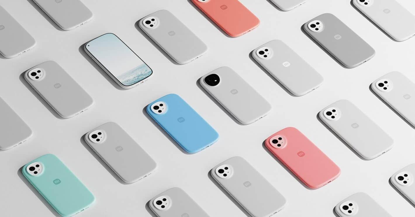 Xiaomi curvy concept phone 8