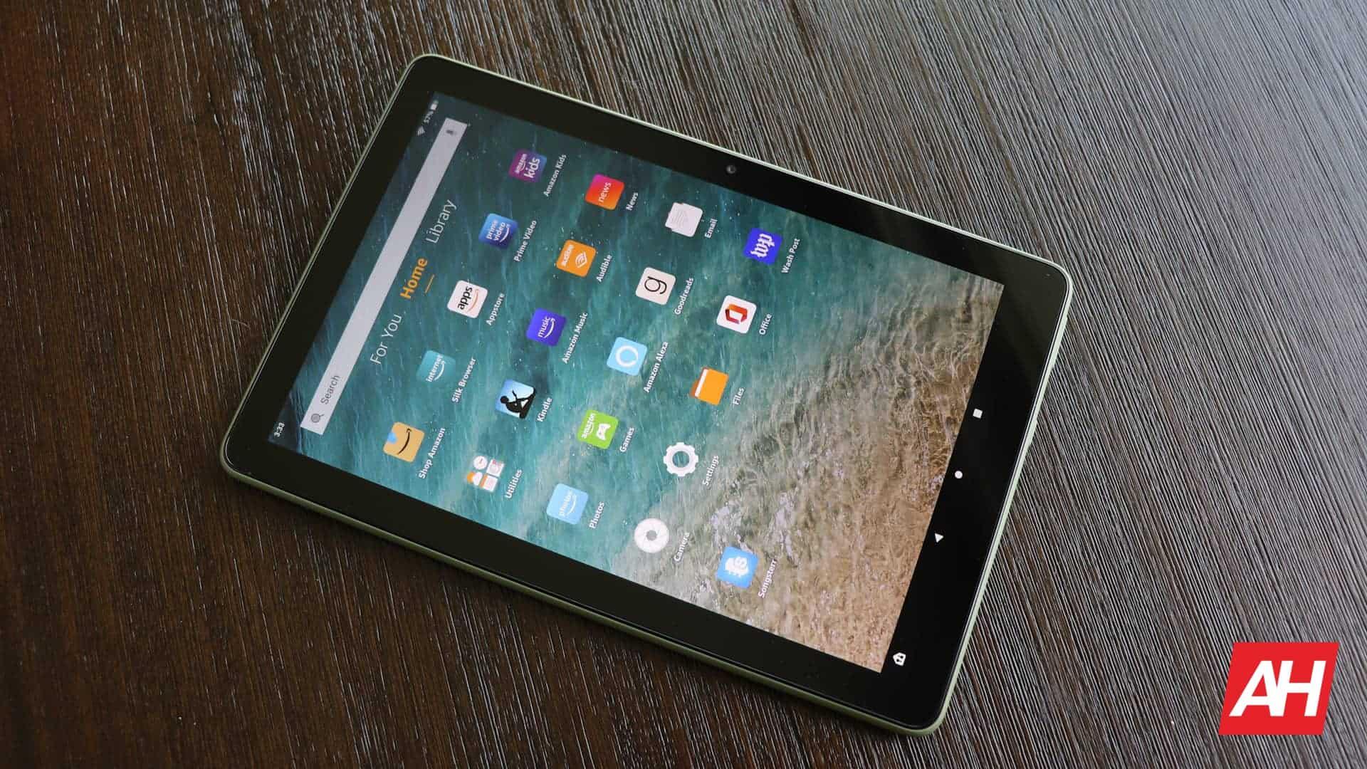 06 Amazon Fire HD 10 review software DG AH 2021