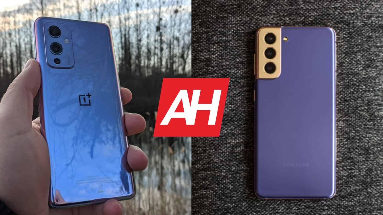 Phone Comparisons: OnePlus 9 vs Samsung Galaxy S21