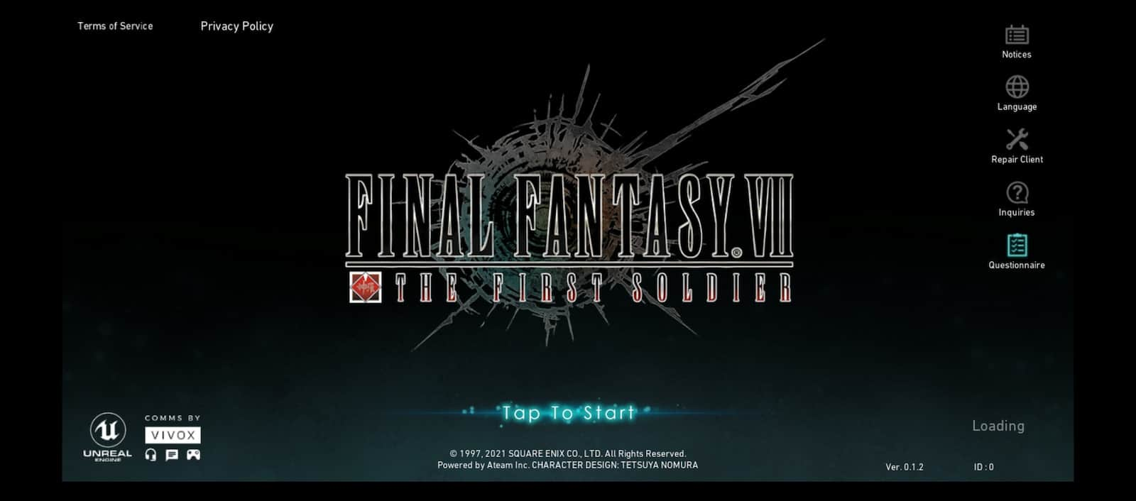 Final Fantasy VII First Soldier Closed Beta 1