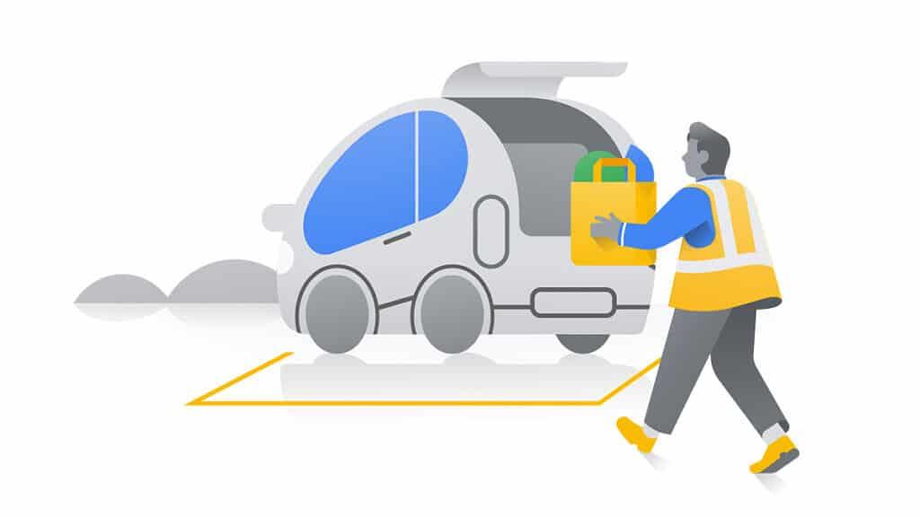 Google Maps Assistive Pickup Feature