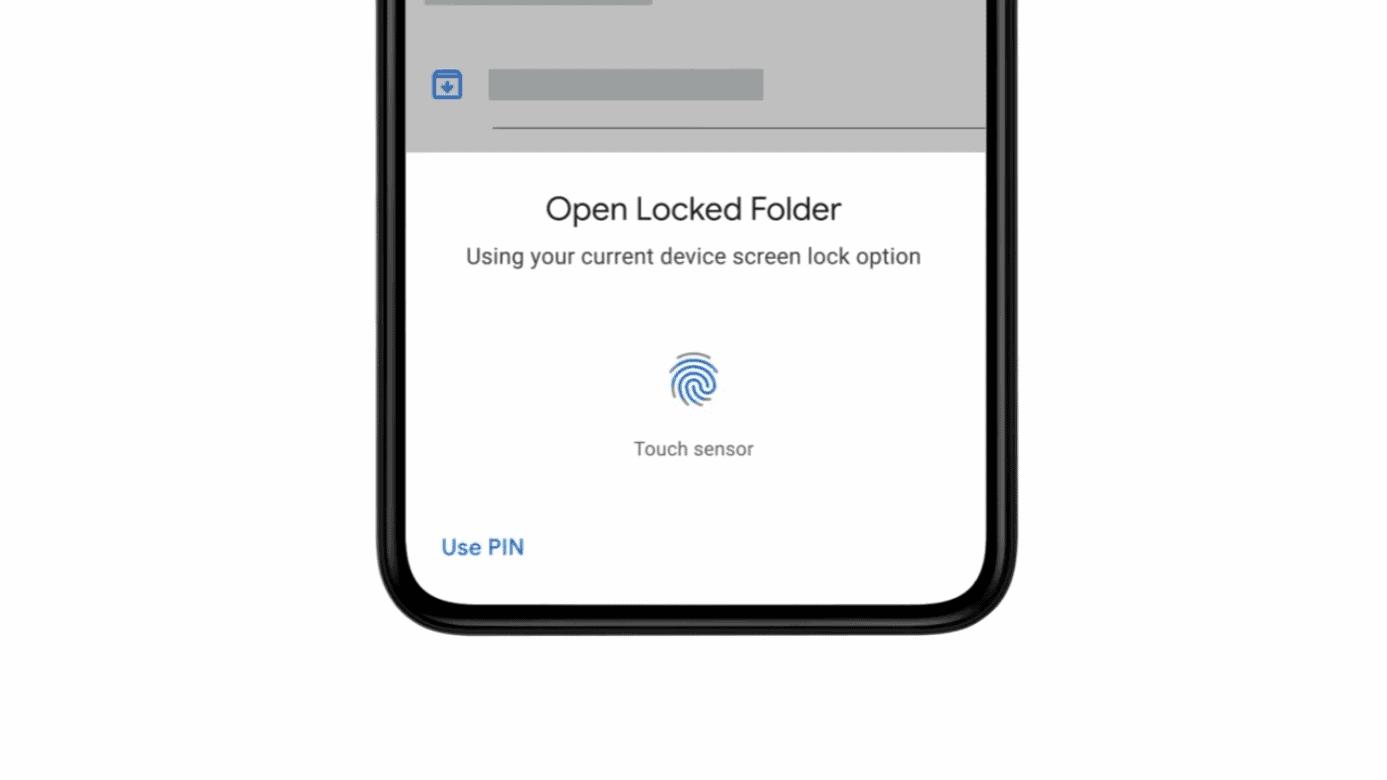 Google Photos locked folder feature