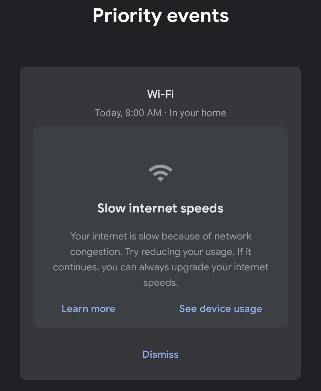 Google Wifi M89 update