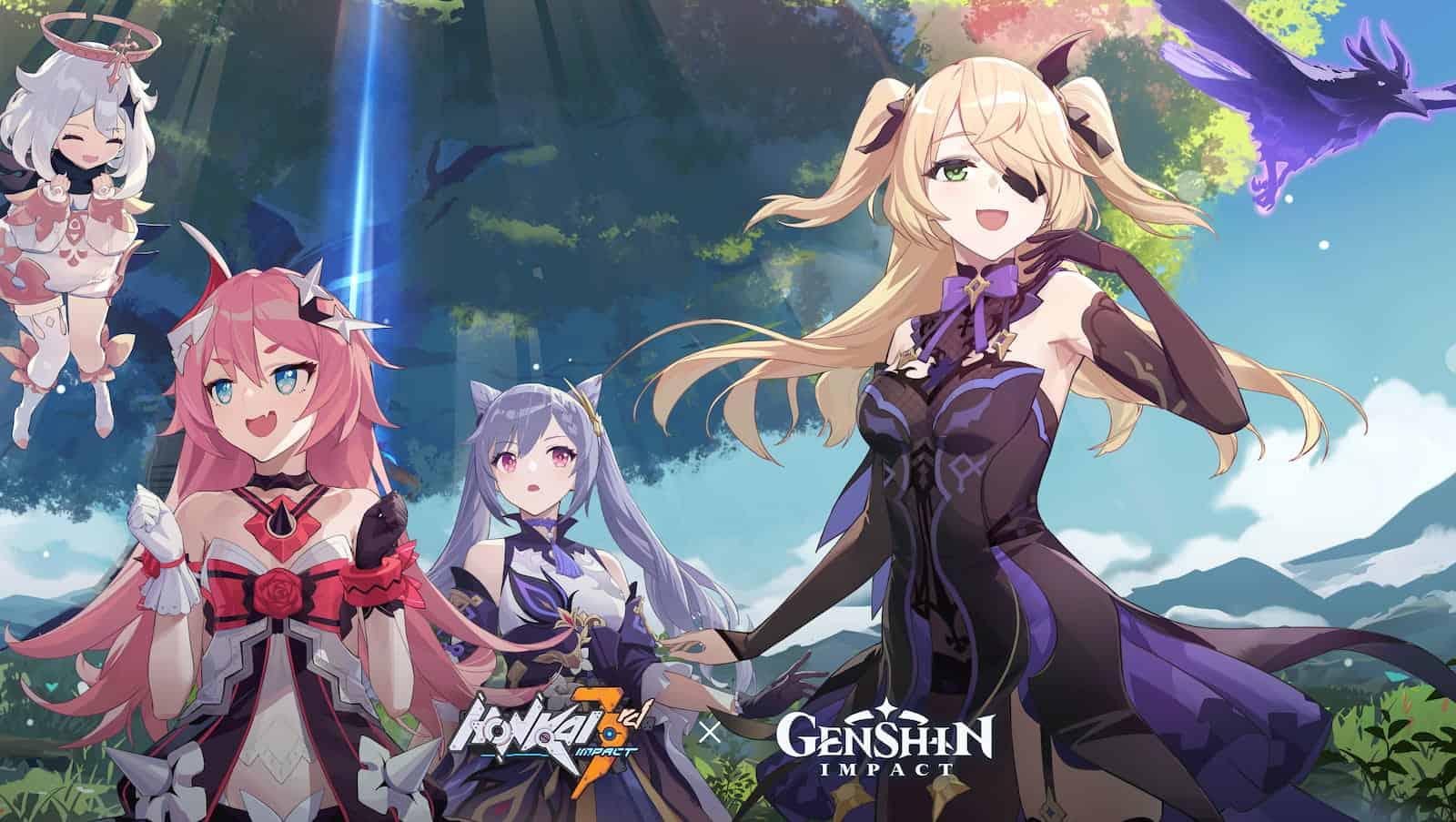 Honkai Impact 3rd Genshin Impact Crossover 2