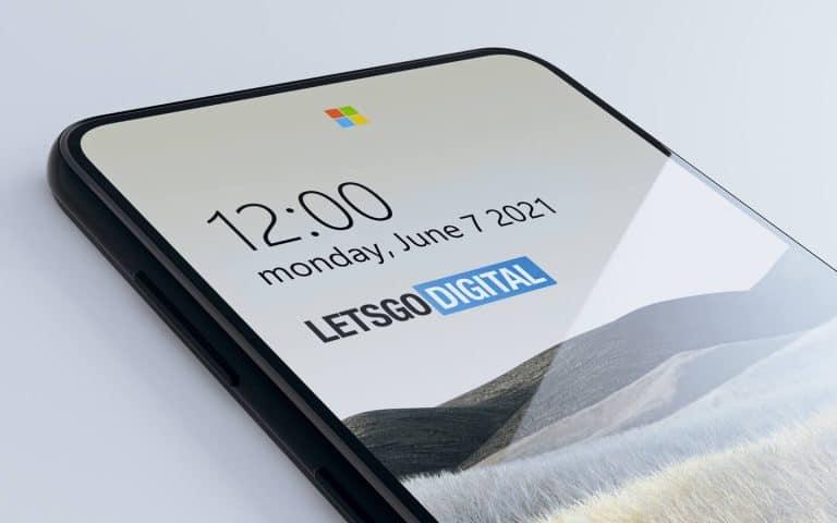 Microsoft Surface Under Display Camera Sensors 2