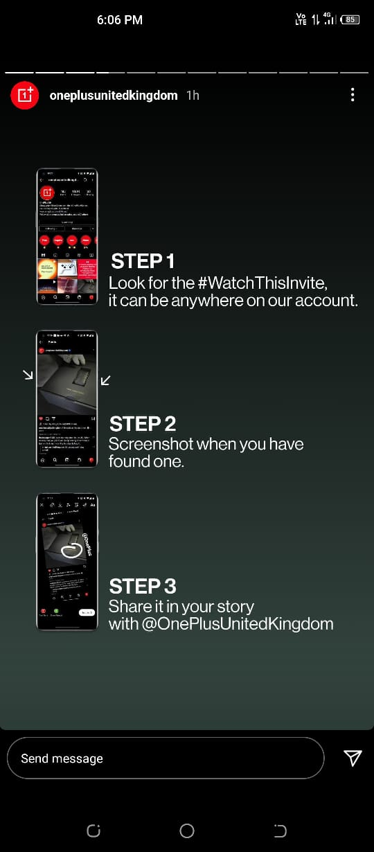 OnePlus Watch Cobalt Limited Edition invite code hunt
