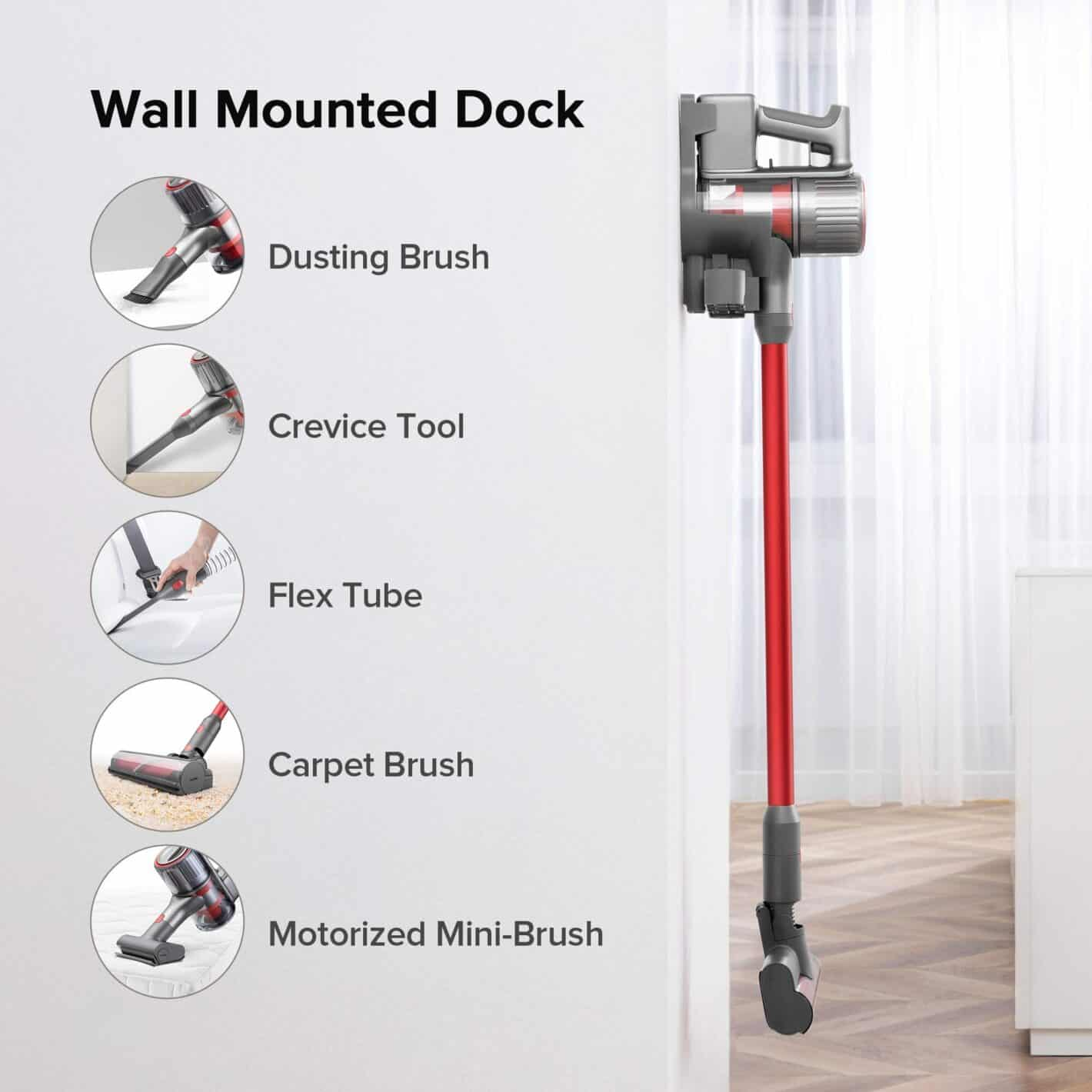 Roborock H7 Adapt Cordless Vacuum Wireless Handheld Vacuum Cleaner Carpet Portable Vacuum Cleaner 150AW Strong Power