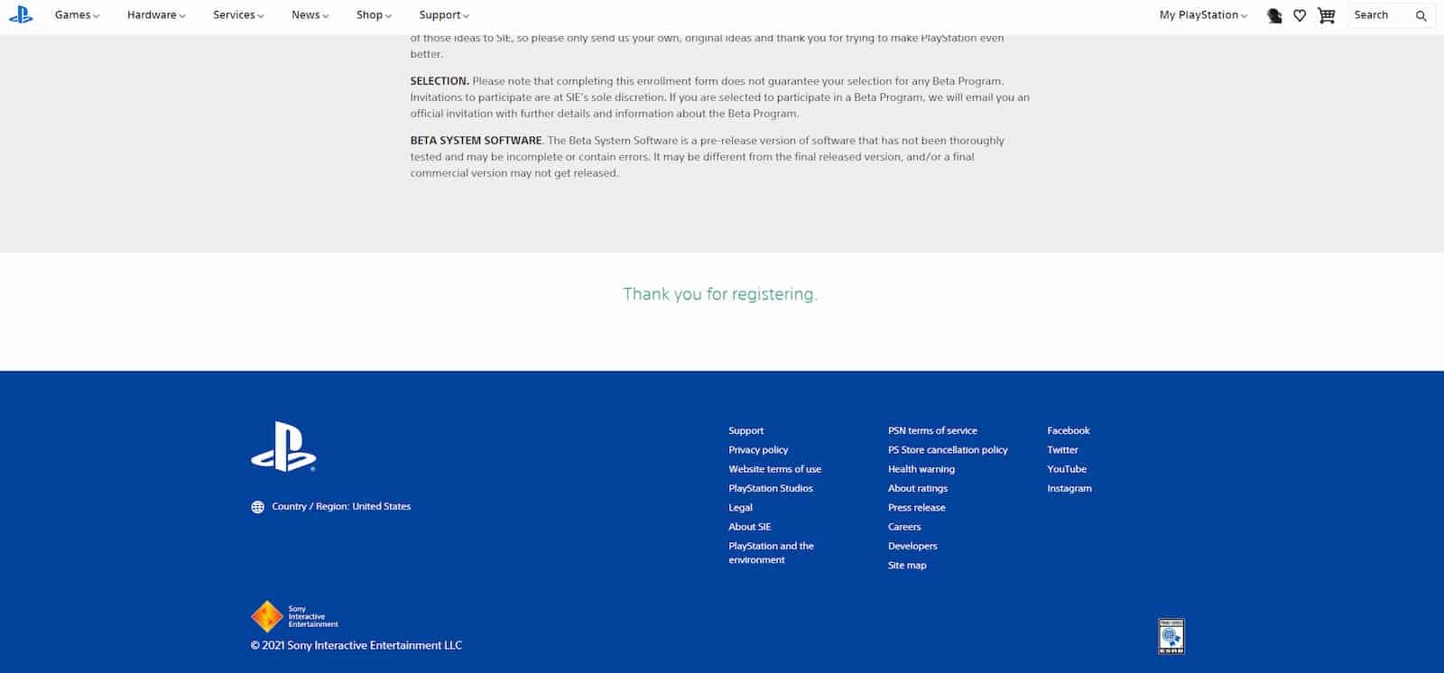 Sony PS5 System Software Beta Program 2