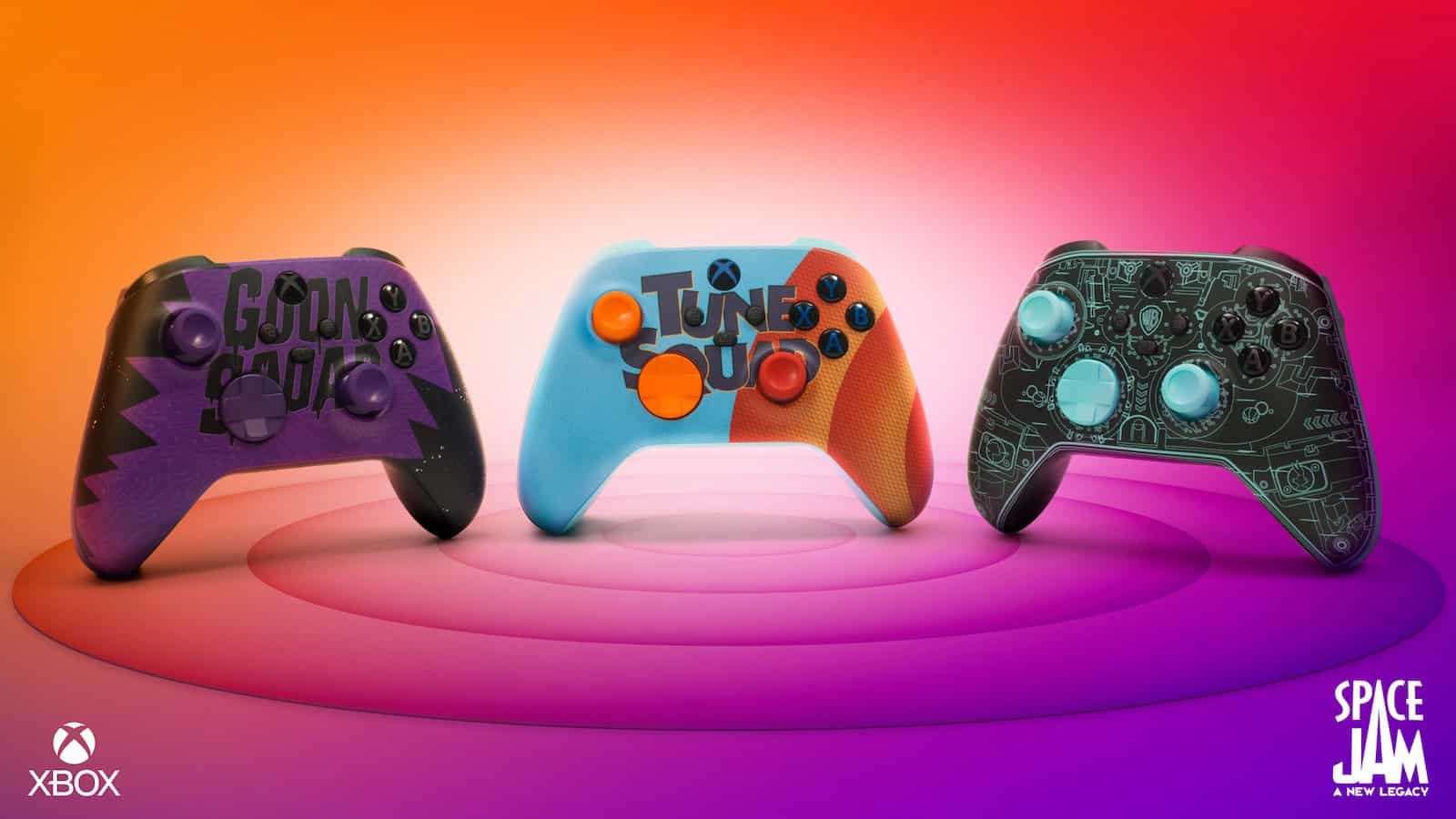 These Custom Xbox Controllers Are Ready To Take On The Goon Squad