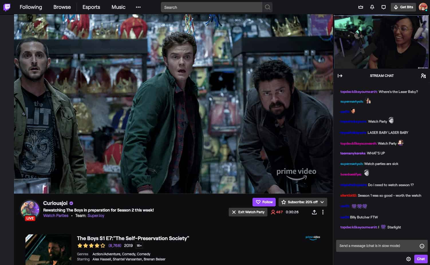 Twitch Is Beginning To Push Its Watch Parties Feature To Android